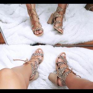 Dolce vita calf hair heels!!